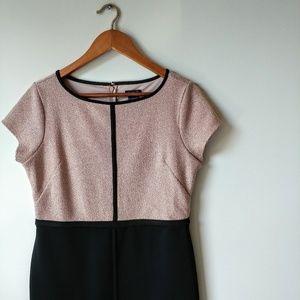 Ann Taylor ▪ Color-Block Dress